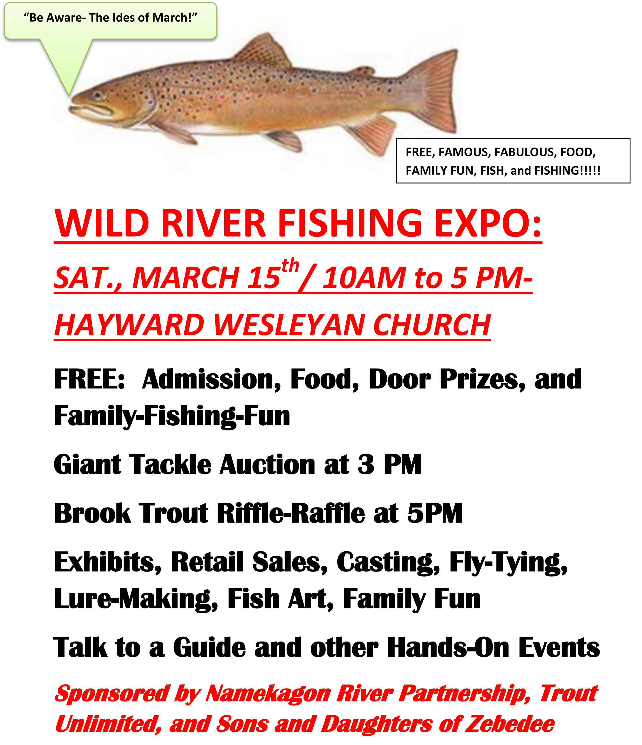 WILD RIVER FISHING EXPO SAT